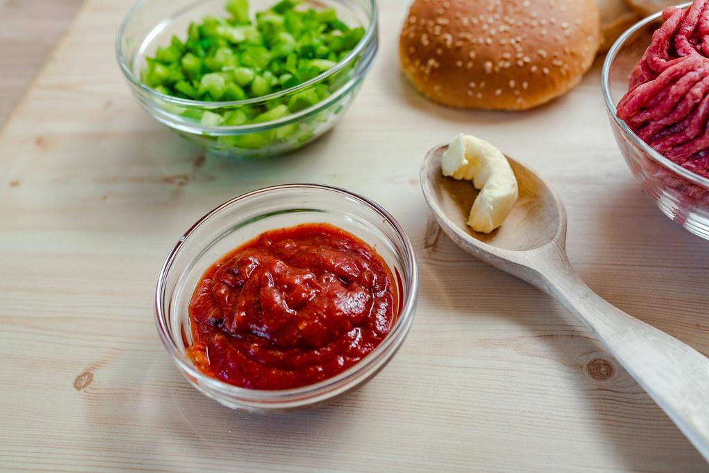 Ketchup CloseUp For Burger Recipe
