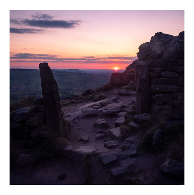 Spring Evening at the Roaches(#8)