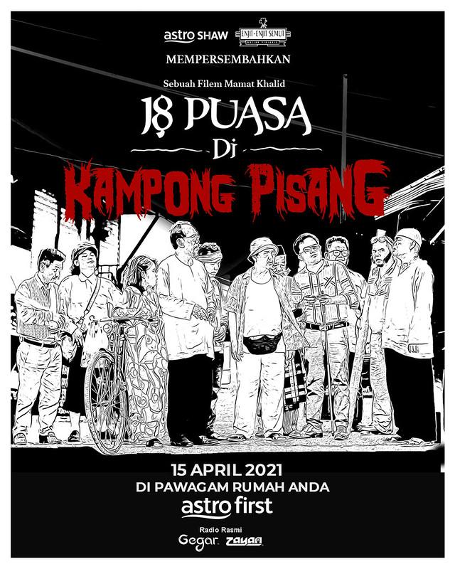 Poster - 18 Puasa Di Kampong Pisang