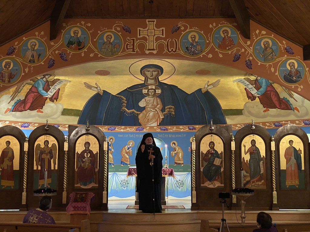 Metropolitan JOSEPH Visits St. Michael, Greensburg, PA