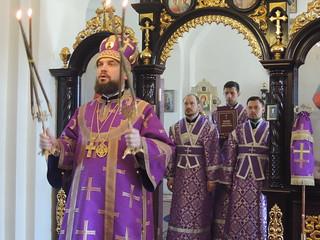 18.04.2021 | Божественная литургия в Георгиевском храме дер. Великое село