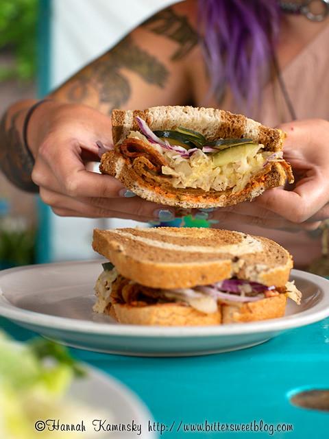 Counter Culture - Pastrami Sandwich