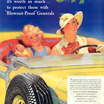 Mon, 2013-12-02 16:29 - Tyre makers were masters in the art of generating anxiety.  What if your choice of tyre lead to the death of your nearest and dearest is the subtext here. 1935