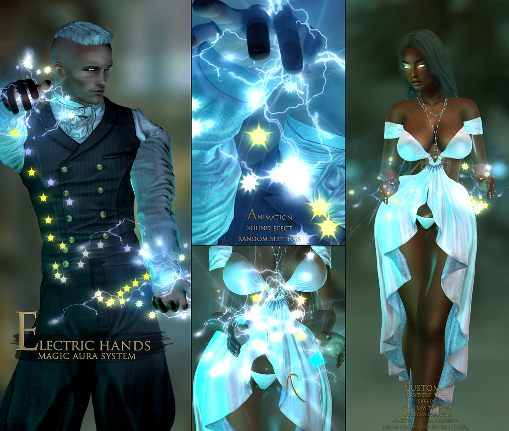 -Elemental- 'Electric Hands' Magic Aura System Advert
