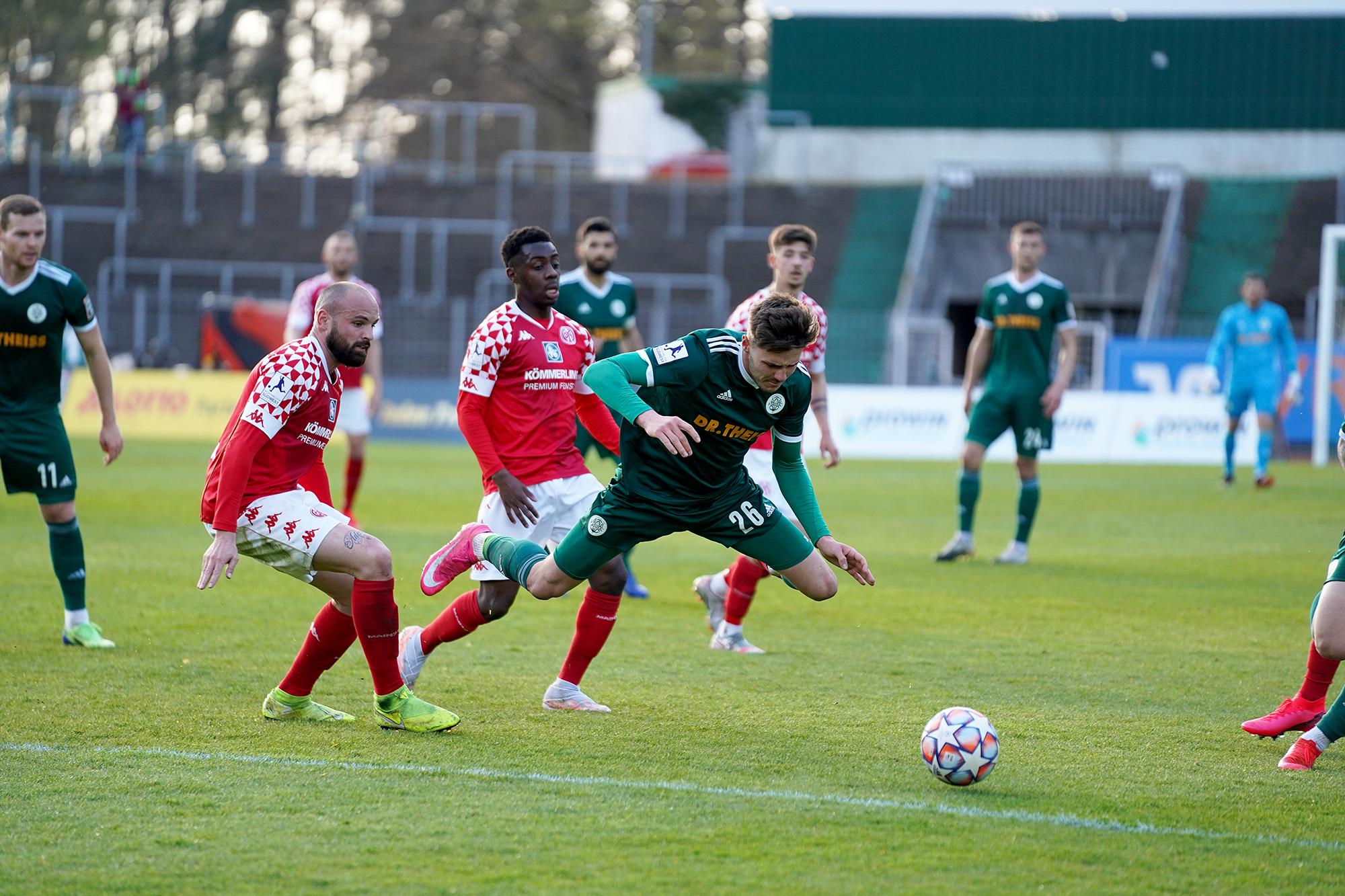 20.04.2021   Saison 2020/21   FC 08 Homburg   1. FSV Mainz 05 II