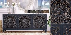 Pitaya - Handcarved Sideboard @ Shiny Shabby