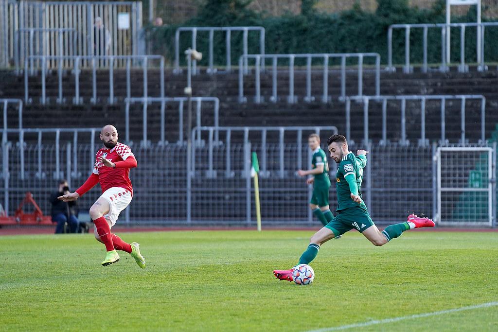 20.04.2021 | Saison 2020/21 | FC 08 Homburg | 1. FSV Mainz 05 II