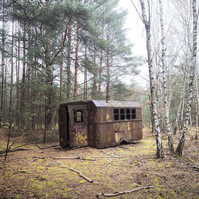 Transportable Schutzhütte / mobile shelter