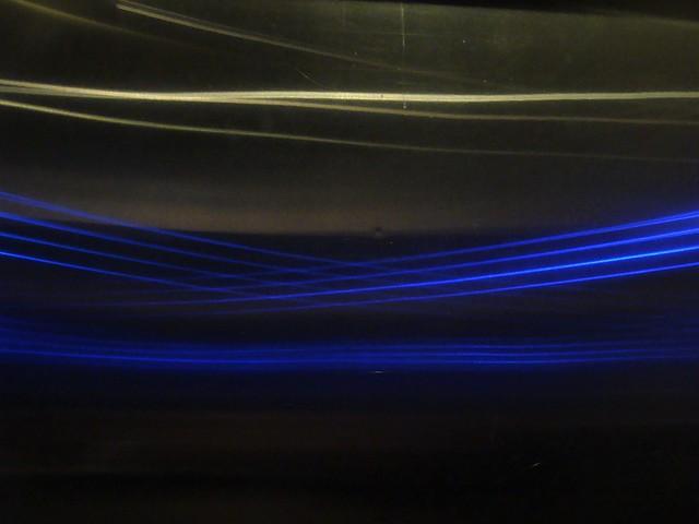 Blue Rays Inside the Matrix