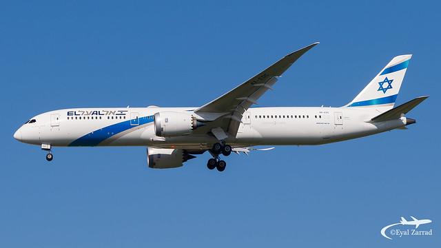 TLV - El Al Boieng 787-9 4X-EDC
