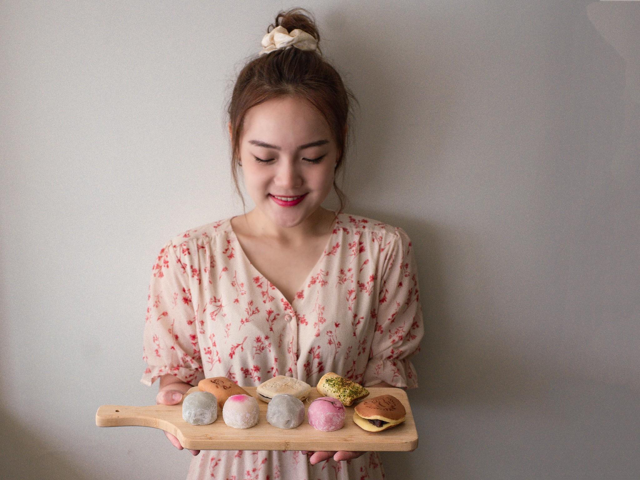 明月堂和菓子  85年和菓子老店。典雅日式彌月禮盒。必吃芋頭捲
