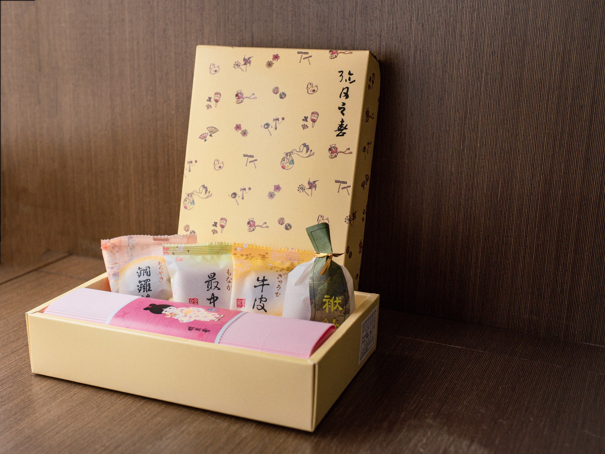 明月堂。和菓子彌月禮盒 (小)
