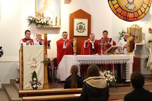 Sakrament Bierzmowania parafia św. Jana Pawła II