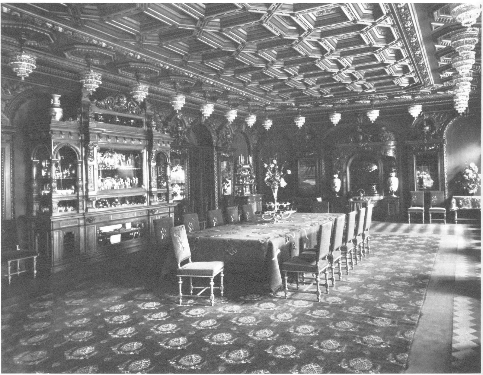 1900. Особняк Елисеева. Столовая