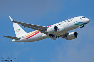 F-WWIZ Airbus A320-251N Guizhou Airlines s/n 10543 - First flight * Toulouse Blagnac 2021 *