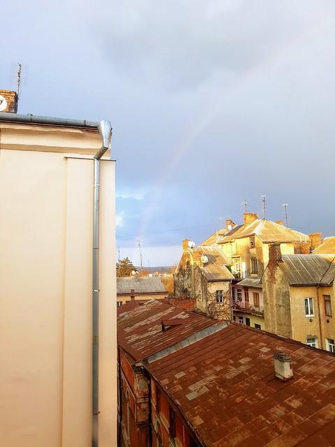 Rainbow in Chernivtsi | Веселка в Чернівцях