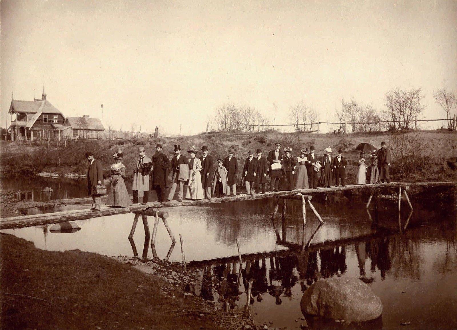 1896. Дачники
