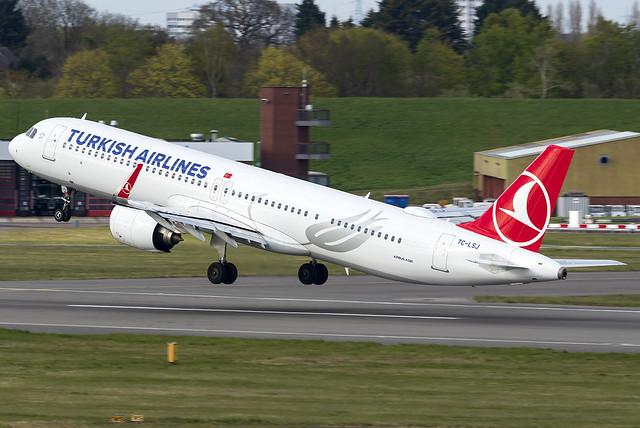 Turkish Airlines A321neo TC-LSJ at Birmingham Airport BHX/EGBB