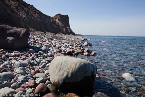 Rocks near McIntyres Bluffs, Sterling Nature Center, New York