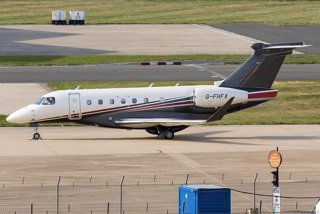 Flexjet Embraer Praetor 600 G-FHFX at Birmingham Airport BHX/EGBB