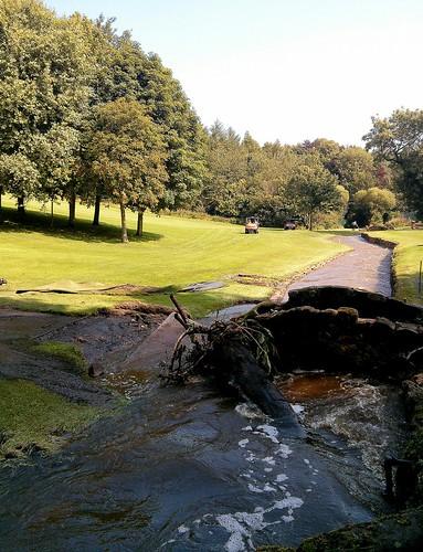 Floods at Bridge, Balbirnie Golf Club