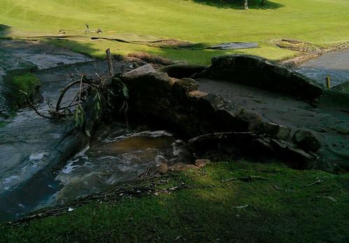 Floods, Balbirnie Golf Course, August 2020