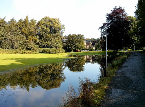 Balbirnie Park Floods August 2020
