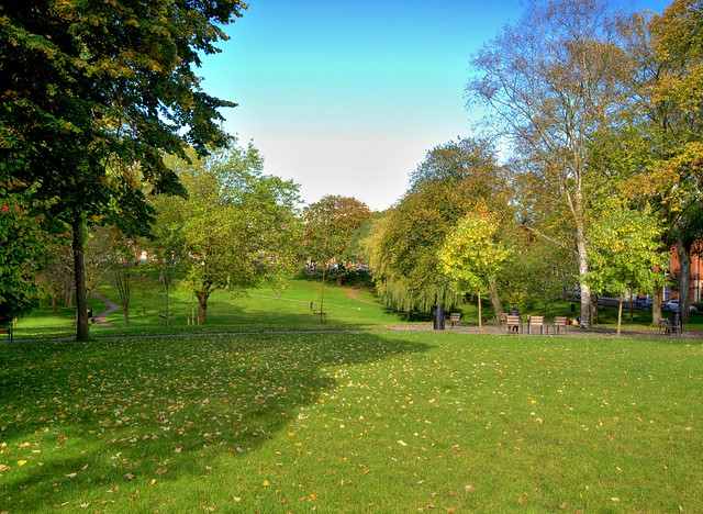 Green Winckley Square at Preston