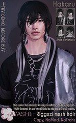 [^.^Ayashi^.^] Hakaru hair Men Only Monthly (MOM)