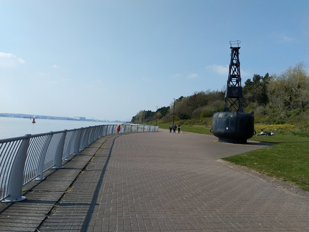 Otterspool Promenade, Liverpool