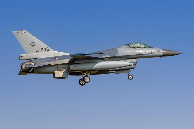 F16 - J-646 - RNLAF - Volkel Airbase (UDE) - NL