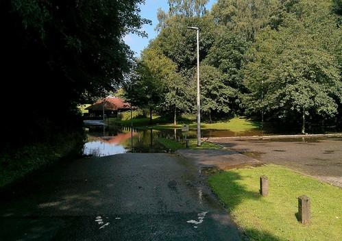 Floods, Balbirnie Park