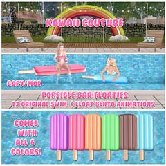 Kawaii Couture - Popsicle Bar Float Set Ad