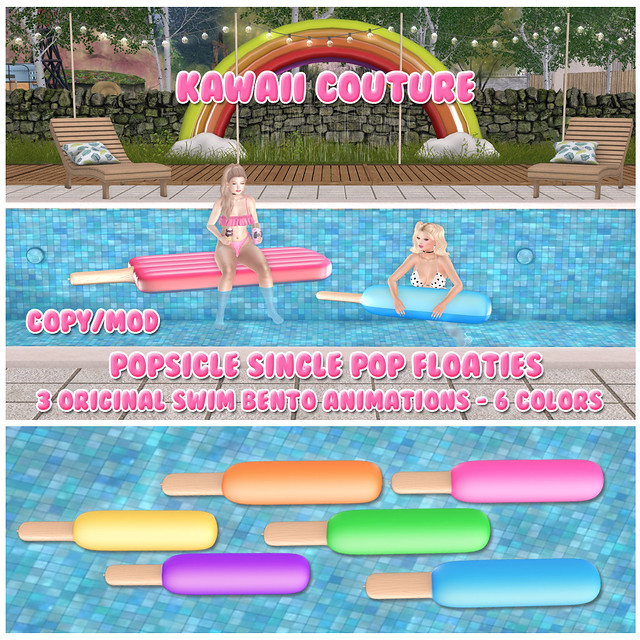 Kawaii Couture - Popsicle Pop Singles Float Set Ad