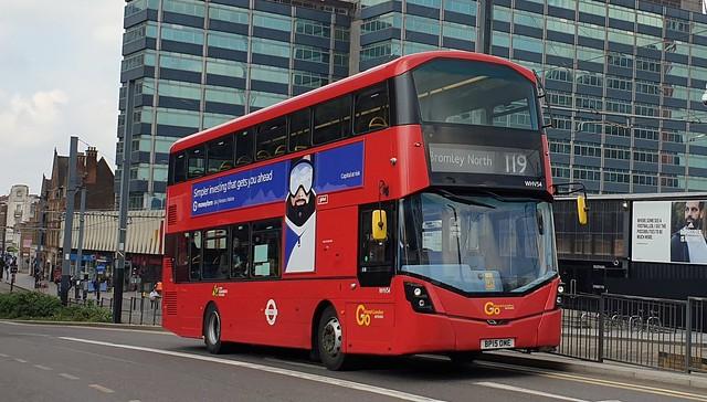 Go-Ahead London WHV54 (BP15 OME) East Croydon 21/4/21