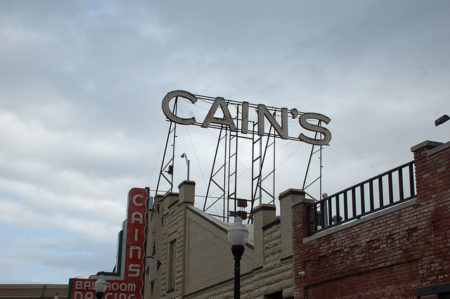 Country/Western/Swing Music: Oklahoma, Tulsa, Cain's