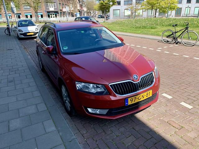 (NL) 97-GN-81 front; Euro-Spec third gen. Škoda Octavia Estate