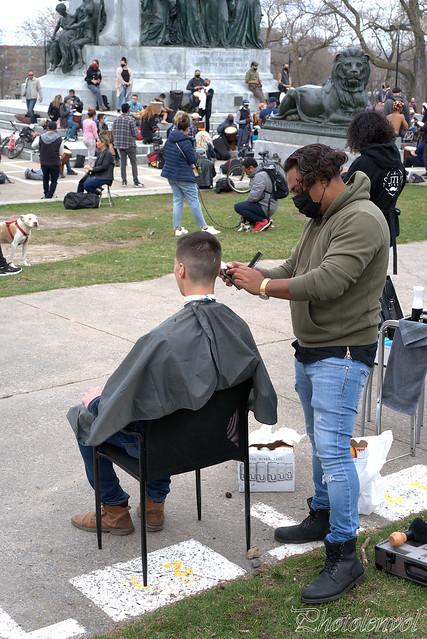 se faire couper les cheveux