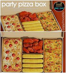 Junk Food - Party Pizza Box