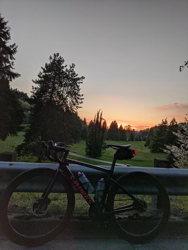 Sunset at Waynita Golf Course