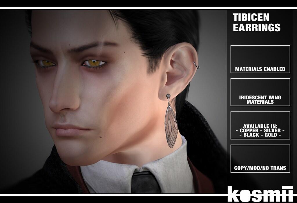 kosmii :: Tibicen Earrings
