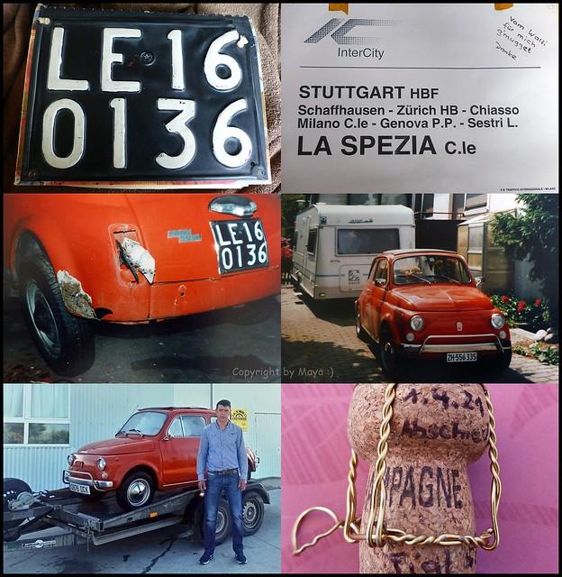 25 Jahre mit meinem Fiat 500L * 25 years with my Fiat 500L * 25 años con mi Fiat 500L *   .   P1480631-002