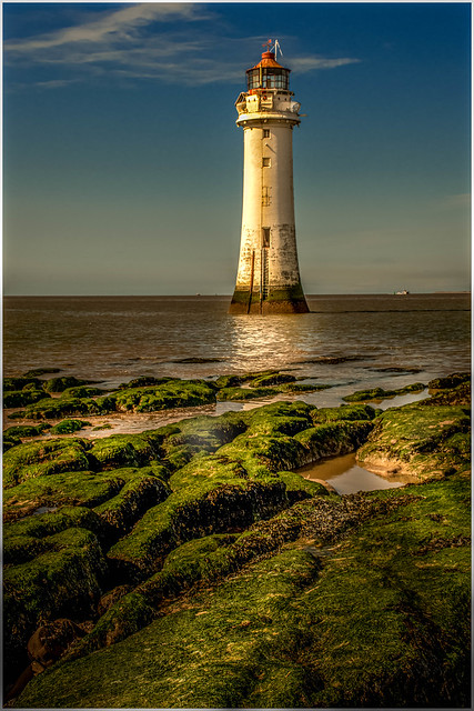 late afternoon at Perch Rock