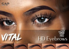 Vital HD Eyebrows (Catwa HDPro)