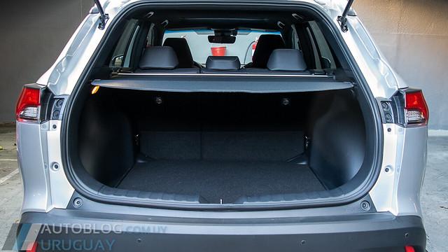 Prueba Toyota Corolla Cross Hybrid SE-G 1.8 e-CVT