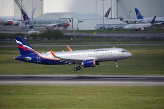 A320n MSN10126 F-WWDZ AFL (VP-BPR)