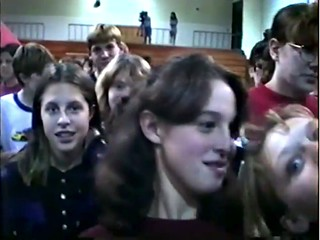 AHS 2000 video taken in 1995 at Ames Middle School Ballon assembly w Tom Randall REMAX Screen shot https://www.youtube.com/channel/UCNd69p87I3o9COEpyTZ9Phw