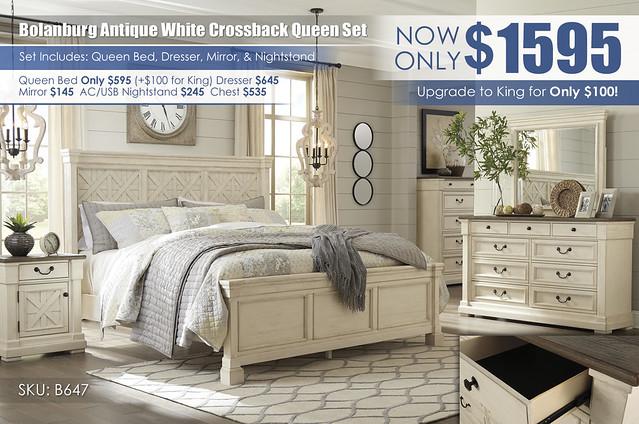Bolanburg Crossback Queen Bedroom Set_B647-131-36-146-58-56-97-191-Q236_insert