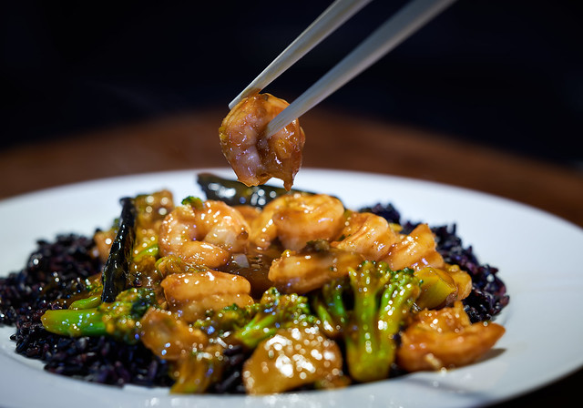 Shrimp in Hot Garlic Sauce