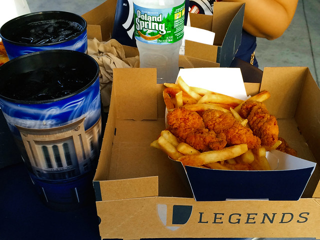 Baseball Game Food.